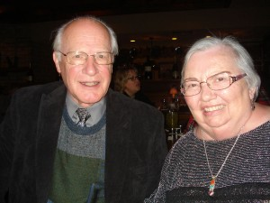 Marilyn and Glen on their 55th wedding anniversary