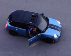 Calebs new car